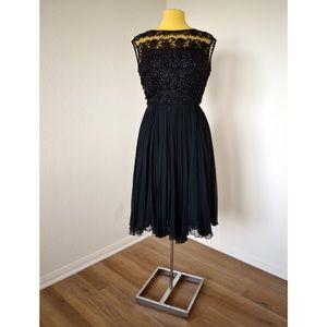 Vintage 50's black Dress